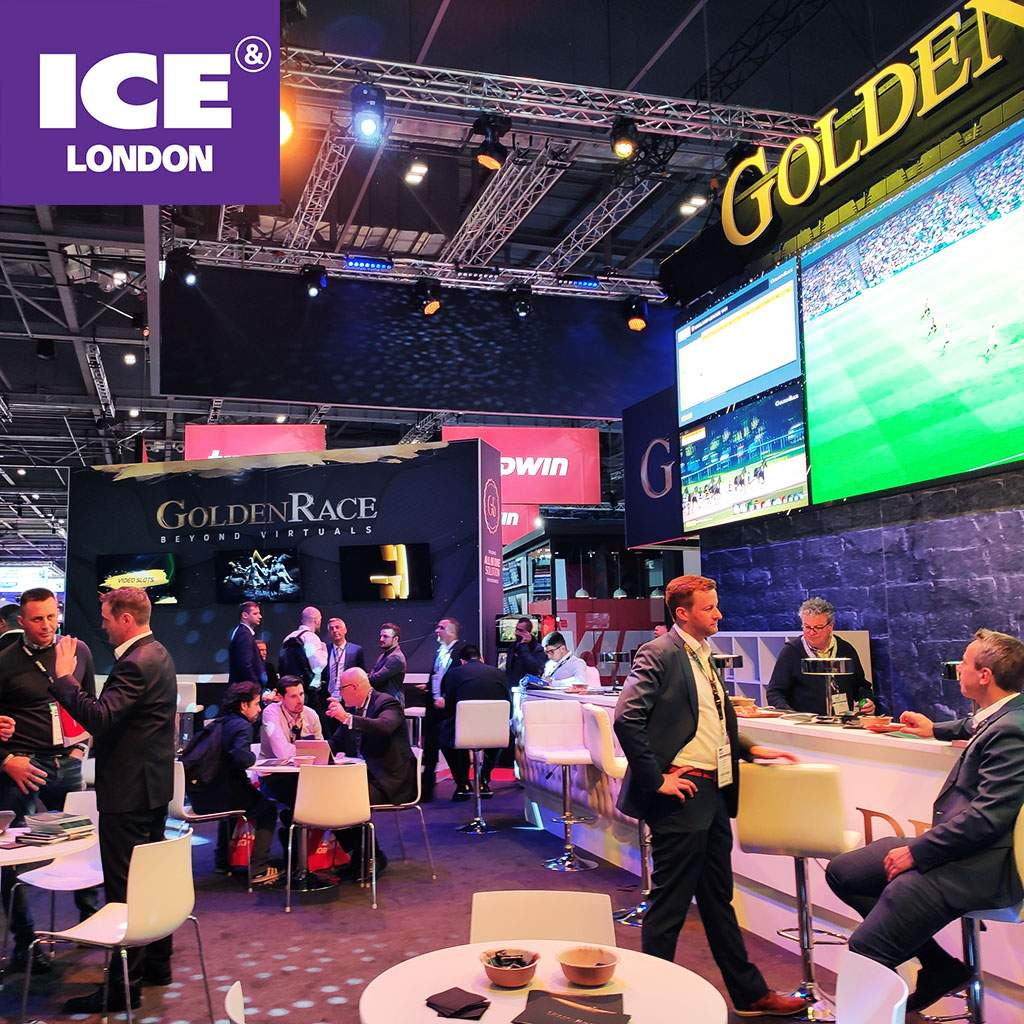 Event VRTech exhibited its latest gaming machines at ICE London 2020
